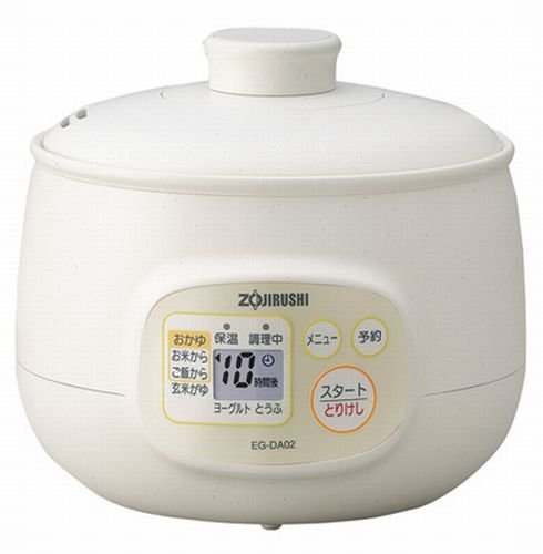 EG-DA02-WB 5 cups white rice porridge bowl maker ZOJIRUSHI microcomputer (japan import)
