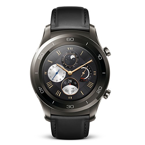 Huawei Watch 2 Classic Smartwatch - Titanium Grey
