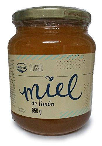 Miel de Limón Natural - 950g - Fabricada en España - Alta Calidad, Orgánica tradicional & 100% pura - Aroma Floral, Sabor Rico y Dulce - Amplia variedad de Deliciosos Sabores
