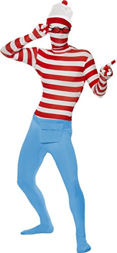 film-tv-feste-where-s-wally-seconda-pelle-costume-completo-abito-multi-m