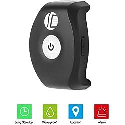 Smart Pet GPS Tracker Monitor De Actividad para Perros SMS/GPRS Dual Mode Waterproof Collar Ajustable para Perros Y Mascotas De Todos Los Tamaños Black