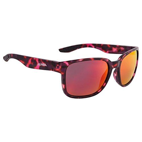 ALPINA Darcon Glasses red-Black Marble 2018 Fahrradbrille