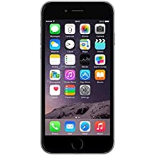 Apple iPhone 6 Gris Espacial 16GB Smartphone Libre (Reacondicionado Certificado)