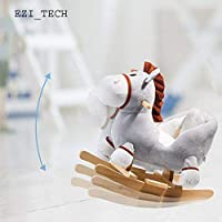 Techstyleuk® Children Rocking Horse Animal Toys Donkey Soft &Safe for Toddlers Kids Baby Gift