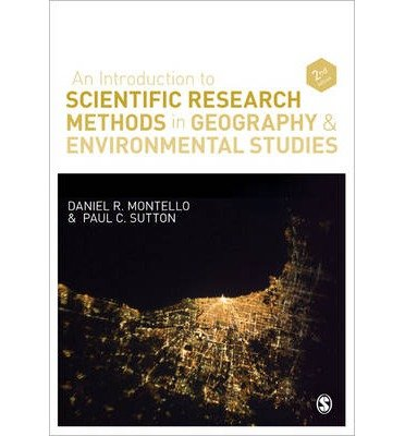 An Introduction to Scientific Research Methods in Geography and Environmental Studies by Sutton, Paul ( AUTHOR ) Dec-31-2012 Paperback