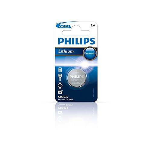 Philips CR2025/01B 3V Lithium Minicell Battery (Sealed)