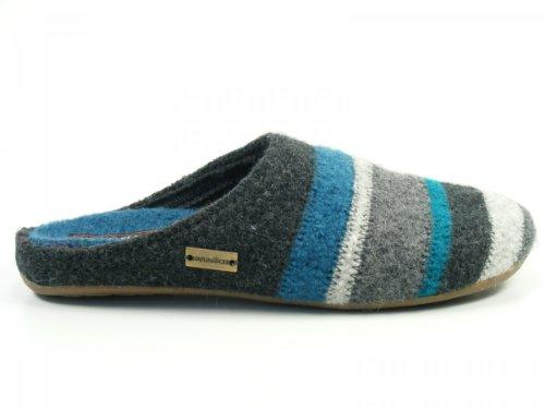 HaflingerPrisma - Pantofole Donna (Grigio)