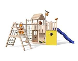 Isidor Kon Tiki Neo Spielturm Mit Erweitertem Schaukelanbau