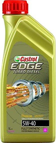 Castrol 1535B6 Olio Castrol Edge Turbo Diesel 5w40 Q3 Titanium 1l Lubrificante auto