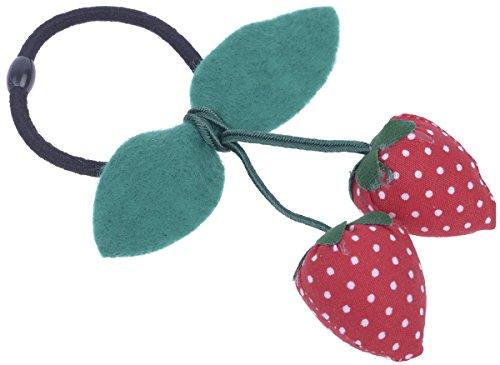 Two STRAWBERRIES Cherry ERDBEER Haargummi / Haarschmuck Rockabilly