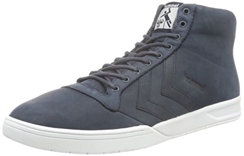 Hummel Unisex-Erwachsene Hml Stadil Winter High Sneaker Top Blau (Total Eclipse)