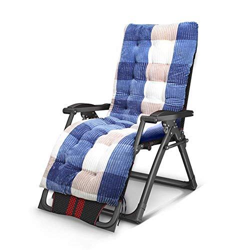 ZHANG Chaise-Sun Lounger Chaise Relax inclinable Multi Position Jardin Patio extérieur Quatre Couleurs,B