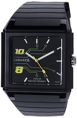 Sonata Ocean Analog Black Dial Men's Watch - NF7988PP01J image