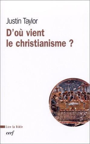 D'où vient le christianisme ?