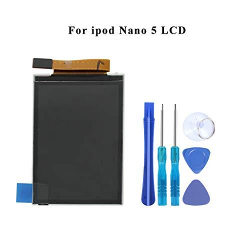creen Ersatz für iPod Nano 5 der 5. Generation (No Touch Digitizer) mit Tool Kit mit Klebstoff -MEHRWEG ()