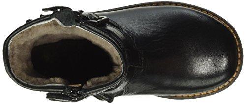Momino 6411mt, Bottes mi-hauteur avec doublure chaude mixte enfant Noir - Noir