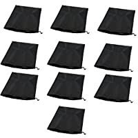 Weanty Shoe Bag Portable Travel Shoe Organizer Bags Drawstring Dust-proof Organiser Storage Bag Case for Shoes Boots High Heel 10Pack