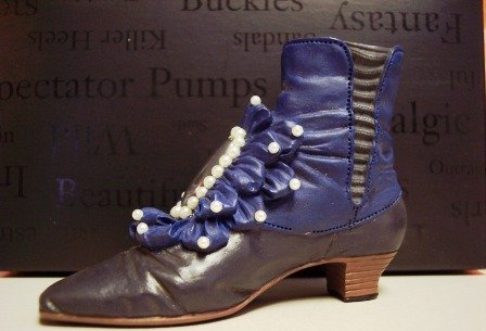 Willitts Raine 1999 Just The Right Shoe Victorian Ankle Boot # 25089 by Willitts