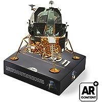 Apollo 11 Flipbook Edition - 2 Libros Animados de 6 animaciones sobre la Llegada a la Luna. con Realidad Aumentada Saturn V Modulo Lunar
