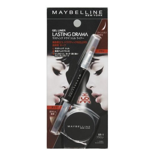 Maybelline Lasting Drama Gel Eyeliner With Brush-Brown
