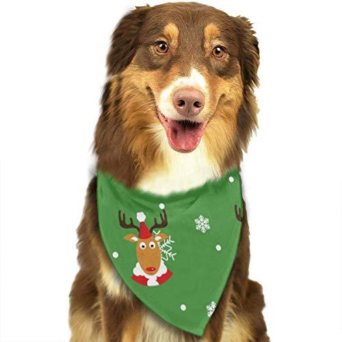 Wfispiy Pattern Fashion Pet Bandanas Dog Car Neck Scarf for Unisex Pet Boy Girls