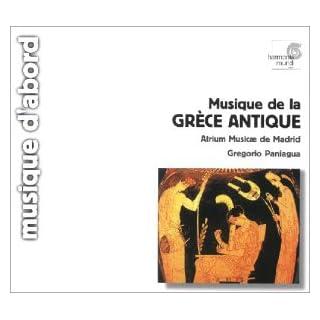 Griechische Musik der Antike