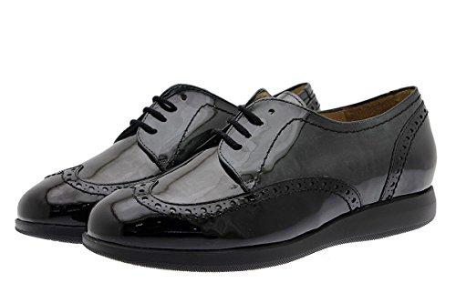 Largeur Lacets Femme Chaussures Piesanto Confort 175630 Cuir Avec xZaq1w04