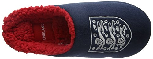 Bafiz England, Chaussons Mules Homme Bleu (Navy/Red 902)