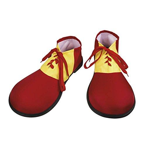 Rote Clown-Schuhe für (Kostüme Für Erwachsene Clown)