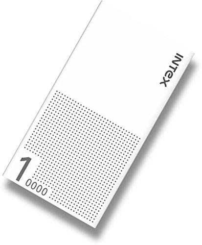 Intex IT-PB10K Poly-01 10000mAH Lithium Polymer Power Bank (White)