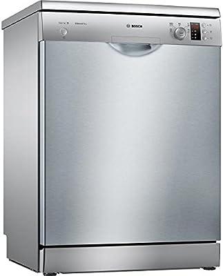 Bosch Serie 2 SMS25AI04E Independiente 12cubiertos A+ lavavajilla - Lavavajillas (Independiente, Acero inoxidable, Acero inoxidable, Botones, Giratorio, Stainless steel / plastic, 12 cubiertos)