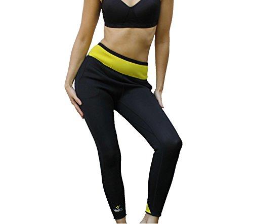 VEOFIT Pantalon de Sudation : Legging minceur - Tonifie et aide à éliminer l'excès d'eau pour une peau plus ferme et une silhouette affinée -Taille M