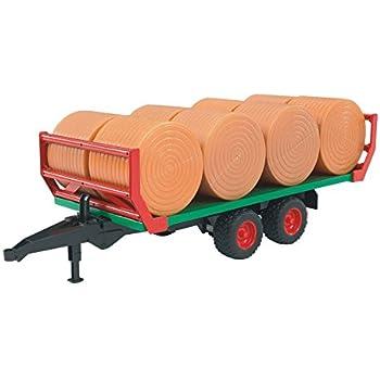 Bruder 02121 - Presse CLAAS Rollant 250 - Verte