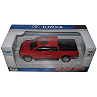 Kingstoy Toyota Tundra Pickup Truck 1:36 Scale Diecast Model Car Red 89108RD by Kings Toy