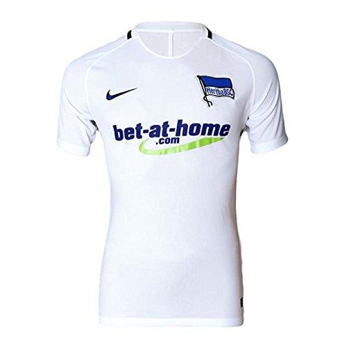 Nike Herren Hertha BSC 2016/2017 Auswärttrikot, weiß, XL-52/54