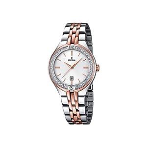 Festina F16868/2 – Reloj de Pulsera Mujer, Acero Inoxidable, Color
