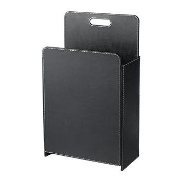 IKEA RISSLA -Papierkorb schwarz: Amazon.de: Küche & Haushalt   {Ikea küchen schwarz 88}