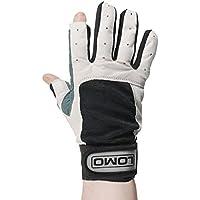Lomo - guantes para navegación con pulgar e índice recortados, gris