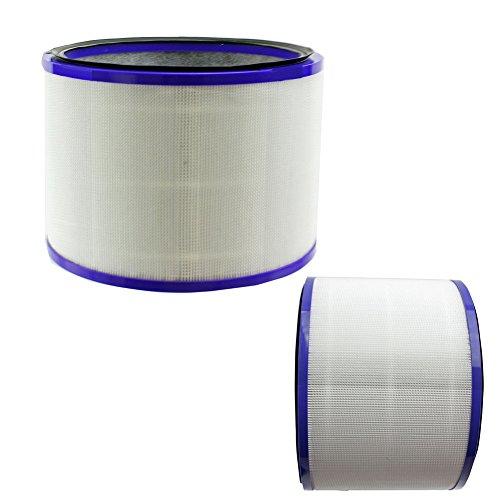 Reyee Lot de 2filtres pour Dyson Pure Cool Link Desk chaud + froid Air Cleaner ventilateur DP01