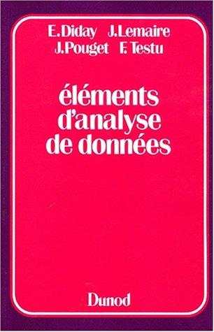 ELEMENTS D'ANALYSE DE DONNEES