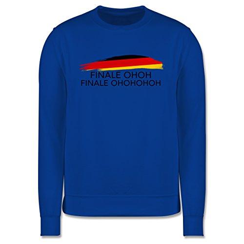 EM 2016 - Frankreich - Deutschland Finale OHOH - Herren Premium Pullover Royalblau