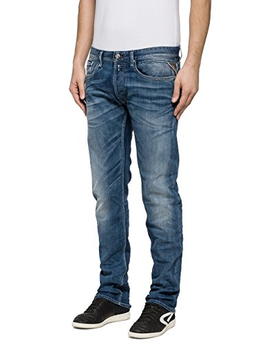 Replay Herren Jeans Newbill Blau (Blue Denim 9)