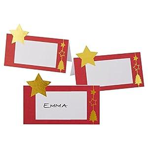 Neviti 772270deslumbrante Navidad-tarjetas de lugar