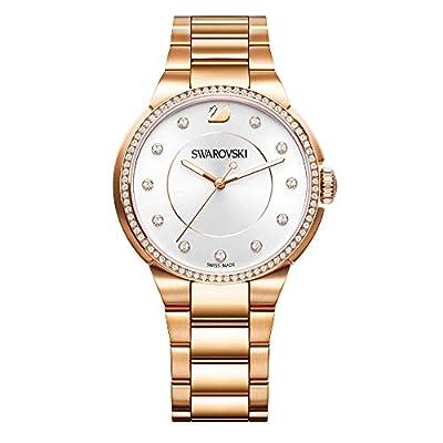 Swarovski City Rose Gold Tone Pulsera Watch de Swarovski