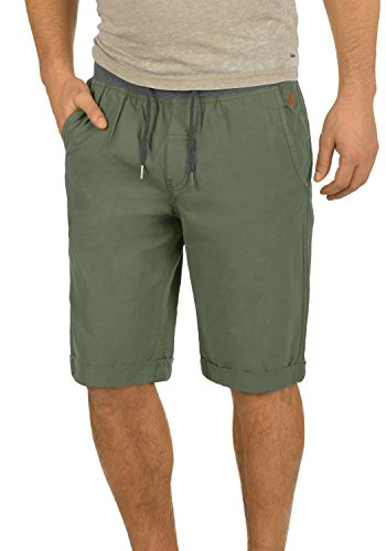 BLEND Claude 20703794 Chino Shorts, Größe:L;Farbe:Dusty Green (70595) (Jersey Blend)