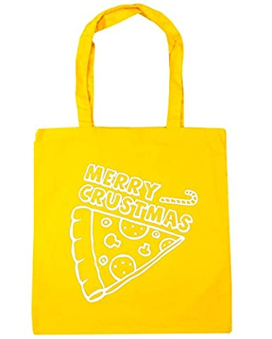 HippoWarehouse Merry Crustmas Tote Shopping Gym Beach Bag 42cm x38cm,