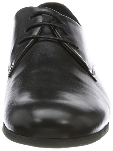 Royal RepubliQ Herren Cast Derby Shoe Black Sole Derbys Schwarz (Black)