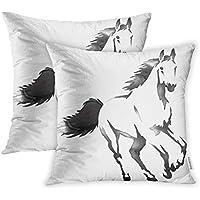 Copricuscini e federe avanzza Fodera per cuscino 40x 40cm cavallo Cuscini decorativi e accessori