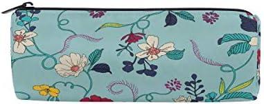 Fleurs colorées Trousse Sac Sac Sac pochette pour enfants garçons filles étudiant d'école avec fermeture à glissière ronde Maquillage Sac B07HNPKNWF | L'apparence élégante  c29c68
