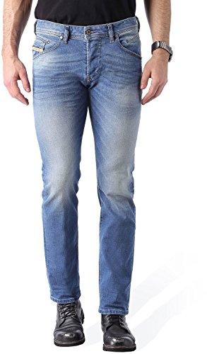 Diesel - - Pour hommes Belther fuselés Jeans, Wash: 0850W Denim